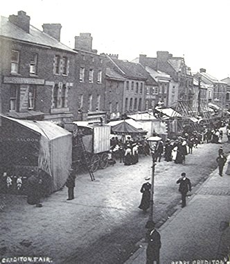 Crediton Fair in the High Street