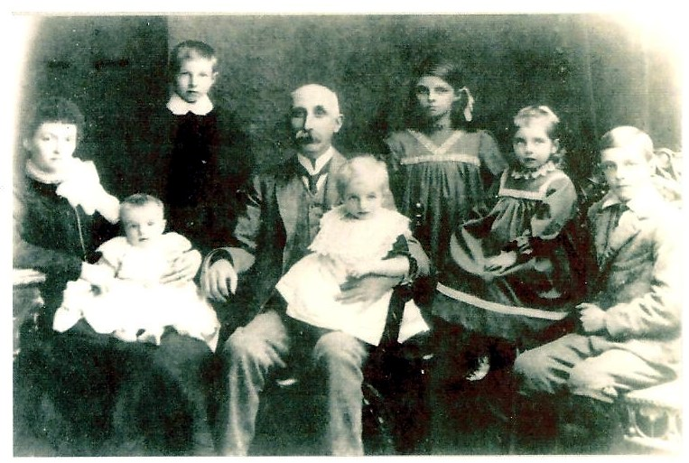 Edward Pollard and family