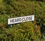 Heard Close sign