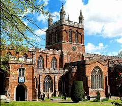 Crediton parish church