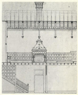 Design for masonic hall