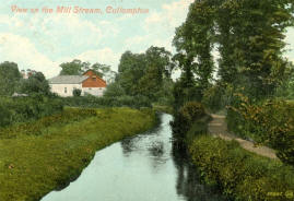 Mill stream at Cullompton