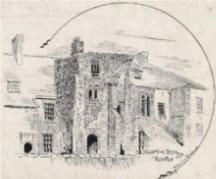 St Nicholas Priory drawing