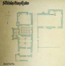 st nicholas priory first plan