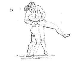 a wrestling throw